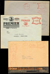 79654 - 1932-45 comp. 6 pcs of letters with various meter stmp, Max