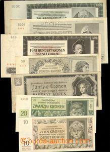 79688 - 1939-45 ČaM  sestava 20 ks bankovek Protektorátu, část Speci