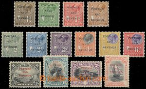 79707 - 1928 Mi.133-149 (SG.174-189) overprint set 14  pcs,  incompl