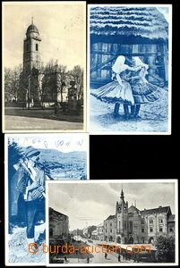 79780 - 1937 sestava 4ks pohlednic, 2x MUKAČEVO (Munkács/М&#