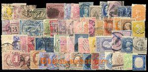 79784 - 1860-1920 WW  sestava  cca 60ks známek celého světa, pře