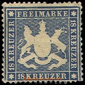 79819 - 1862 Mi.20y, Znak, 2x kzy, decentrované, v horním okraji m