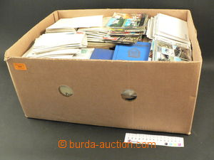 79822 - 1880-1990 WHOLE WORLD  banana box full stamps, estate of col