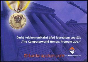 79835 - 2007 stamp-booklet ČTÚ 01/2007 with stamps Pof.508 Malá S
