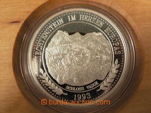 79847 - 1993 LIECHTENSTEIN  silver coin 20ECU, luxury etui, quality