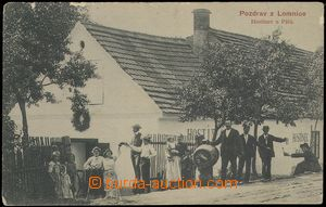 79864 - 1908 DOLNÍ LOMNICE - hostinec U Pálů, naražený pivní s