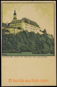 79866 - 1910 NOVÉ MĚSTO N. M. - castle, lithography, author: J. Vl