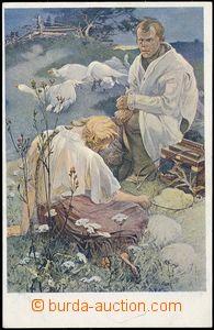 79876 - 1921 MUCHA Alfons (1860–1939), Blahoslavenství (Weill.131