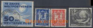 79882 - 1949 Mi.242, 243-44 a 245, první 3 emise vydané v NDR, či