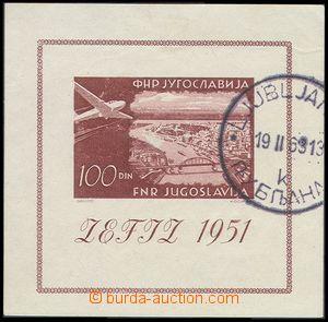 79892 - 1951 Mi.Bl.5, Letecká,kat.220€