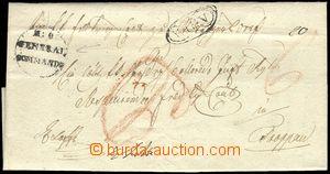 79920 - 1818 folded militar letter Ex offo, oval CDS WIEN, service p
