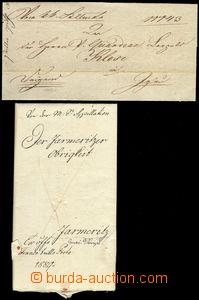 79922 - 1812-89 4 pcs of poselských folded letters, 1x express, 1x