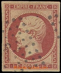 79936 - 1853 Mi.17b, Napoleon, c.v.. 5000€, on the reverse side va