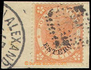 79943 - 1874 VŠEOBECNÉ VYDÁNÍ  Mi.9, 2L červenooranžová, zná