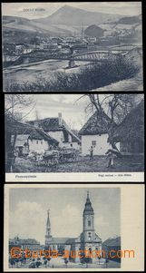 79976 - 1919-23 comp. 3 pcs of, LUČENEC (square), JABLOŇOVÉ (old
