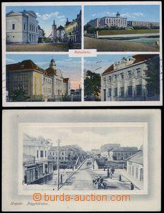 79981 - 1919-31 sestava 2ks pohlednic, UŽHOROD (Ungvár/У