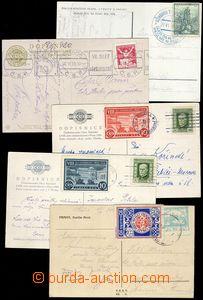 79993 - 1920-36 SOKOL  sestava 5ks pohlednic, 3x námět Sokol,  3x