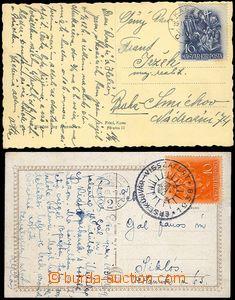 80098 - 1938-39 2x pohlednice z maďarského záboru, frankatura ma�