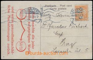 80139 - 1914 HUNGARY, postcard Budapest with commercial additional-p