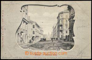 80141 - 1901 BRNO - Eliščina třída (Husova), okénková koláž,