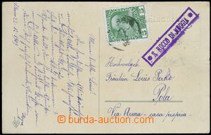 80150 - 1909 postal-agency S.ROCCO DI MUGGIA, with 5h, CDS illegible