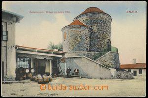 80168 - 1907 ZNOJMO (Znaim) - pivovarský dvůr, rotunda sv. Kateři