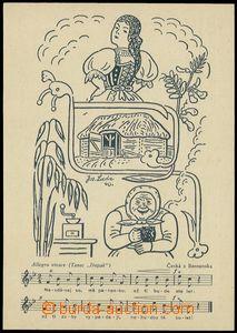 80195 - 1940 LADA Josef (1887–1957), cyklus Lidové písně, Druž