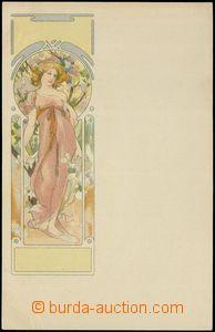80230 - 1900 MUCHA Alfons (1860–1939), Champenois, Série 3, Ročn