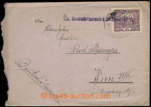 80235 - 1920 letter sent member 111. infantry reg. from Berehovo to