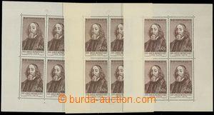 80250 - 1957 Pof.PL930 I.-VI., Comenius 60h, complete set 6 pcs of t