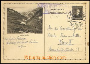 80304 - 1933 postal-agency HEROLTOVICE (Město Libavá ), c.v.. Geb.