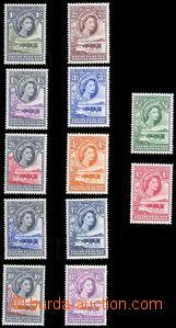 80341 - 1955 SG.143-53? (Mi.129-40), Skot, série 12ks, bezvadné, k