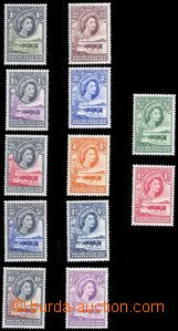 80341 - 1955 SG.143-53? (Mi.129-40), Skot, série 12ks, bezvadné, kat