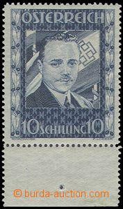 80420 - 1936 Mi.588, Dollfuß, stmp with lower margin, cat. ANK 1000