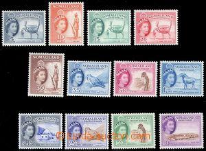 80427 - 1953 SG.137-148, Motivy, série 12ks zn., bezvadné, kat. 95&#