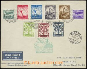 80429 - 1933 philatelically influenced airmail letter to Vienna (WIP