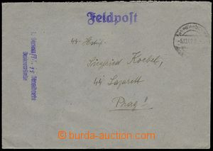 80432 - 1942 SS Feldpost (Field-Post), letter without franking, CDS