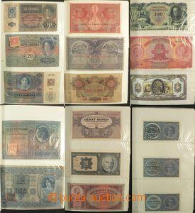 80464 - 1900-80 BANKOVKY / WW  velká sestava bankovek celého svět