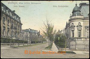 80480 - 1910 WIEN XIX - Dittesgasse, vila Kment a Schleiffelder; pro