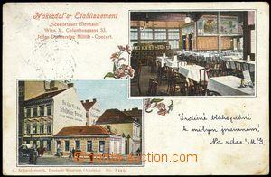 80485 - 1900 WIEN X - 2-okénková, restaurace Schelletauer Bierhall