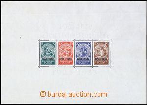 80510 - 1933 Mi.Bl.2, miniature sheet Notfilfe, corresponding  size,