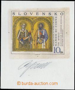 80512 - 1997 Zsf.133ZT, Bojnický oltář, zkouška tisku, vícebare
