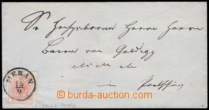 80538 - 1854? letter with Mi.3Y, MP, type IIIc, very wide margins an