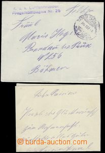 80569 - 1918 AIRCRAFT COMPANY No.25, line violet postmark on envelop