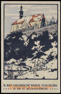 80574 - 1930 PLZEŇ - KRS, Malerische Winkel von Pilsen, II. Die St.