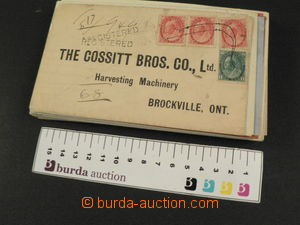 80581 - 1902-48 CANADA  sestava 42ks vyfr. obálek, různé frankatu