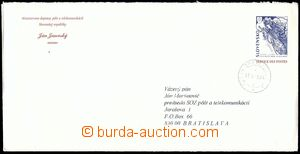 80604 - 1998 CSO3a, used official envelope with additional-printing