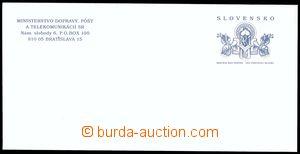 80609 - 2002 CSO12 (kat. ERVO), celinová služební obálka včetn�