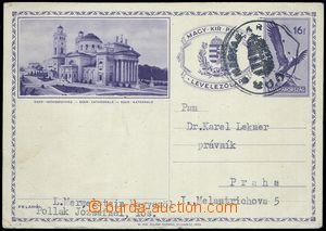 80652 - 1939 Podkarpatská Rus  maďarská obrazová dopisnice 16f a