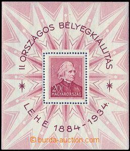 80656 - 1934 Mi.Blok 1  Filatelistická výstava, dobrá kvalita, ka